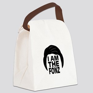 'I Am The Fonz' Canvas Lunch Bag