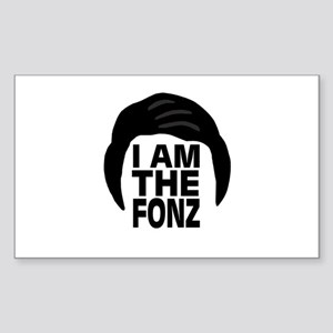'I Am The Fonz' Sticker (Rectangle)
