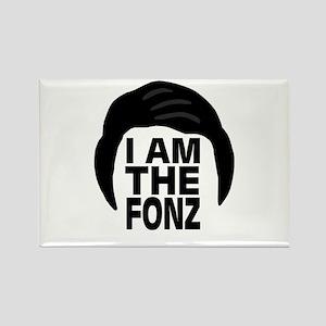 'I Am The Fonz' Rectangle Magnet