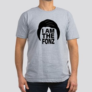 'I Am The Fonz' Men's Fitted T-Shirt (dark)