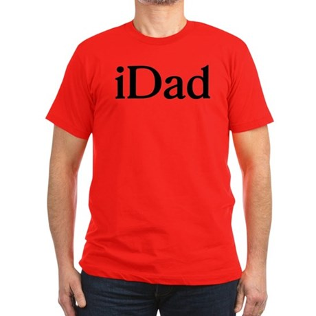 iDad Men's Fitted T-Shirt (dark)