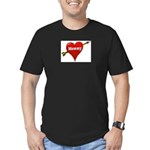 mommy Men's Fitted T-Shirt (dark)
