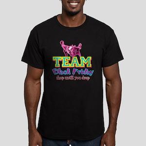 Team Black Friday Men's Fitted T-Shirt (dark)