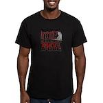 1-800-GET-A-DOG Men's Fitted T-Shirt (dark)