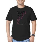 My Bird Walks... Men's Fitted T-Shirt (dark)