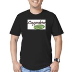 Crappochino Men's Fitted T-Shirt (dark)