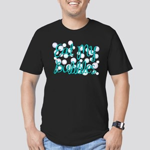 Eat my Bubbles Men's Fitted T-Shirt (dark)
