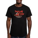 Daddys Lil' Trucker Men's Fitted T-Shirt (dark)