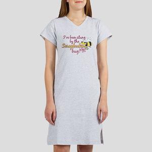 Scrapbooking Bug Women's Nightshirt