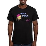 GIRLFISH Men's Fitted T-Shirt (dark)