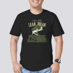 Lean Mean Fishing Machine Men's Fitted T-Shirt (da