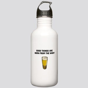 Born From The Wort (birth of beer) Water Bottle