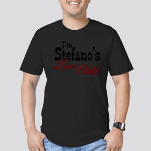 Stefano's Love Child Men's Fitted T-Shirt (dark)