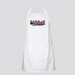 Born In South Africa Apron