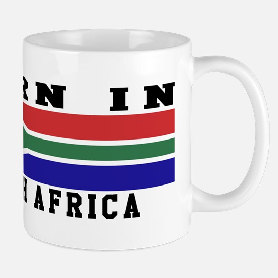 Born In South Africa Mug