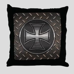 Gridiron Maltese III Throw Pillow