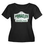 Pinnacles National Park Women's Plus Size Scoop Ne