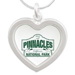 Pinnacles National Park Silver Heart Necklace