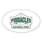 Pinnacles National Park Sticker (Oval 10 pk)