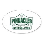 Pinnacles National Park Sticker (Oval 10 pk)