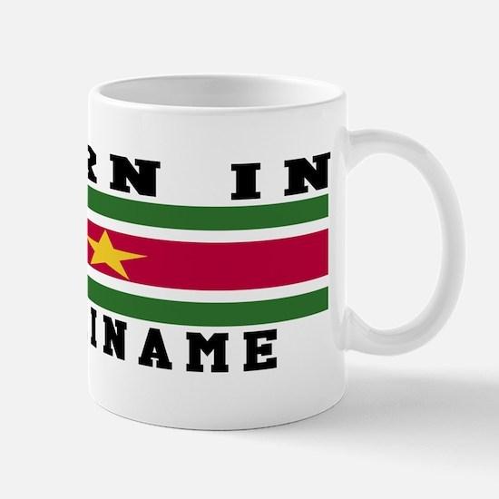Born In Suriname Mug