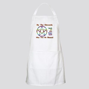 Elemental Blessing BBQ Apron