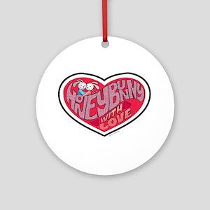Honey Bunny Ornament (Round)