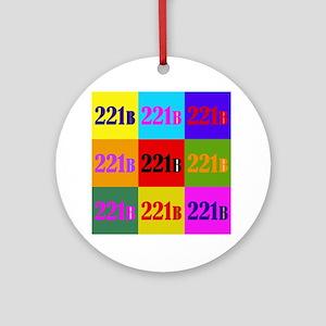 Colorful 221B Ornament (Round)