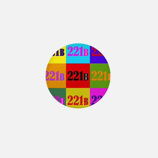 Colorful 221B Mini Button
