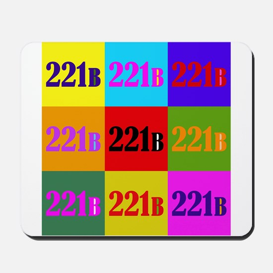 Colorful 221B Mousepad