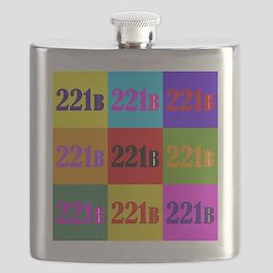 Colorful 221B Flask
