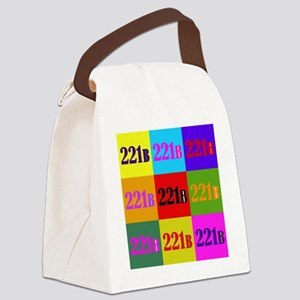 Colorful 221B Canvas Lunch Bag