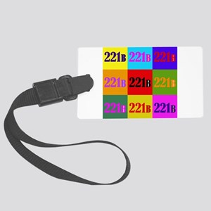 Colorful 221B Luggage Tag