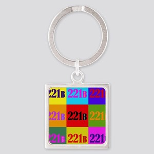 Colorful 221B Keychains
