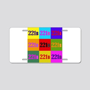 Colorful 221B Aluminum License Plate