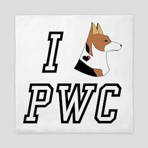 I Corgi tri head PWC Queen Duvet