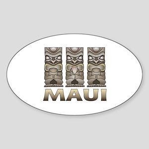 Maui TIKI Sticker