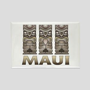Maui TIKI Rectangle Magnet