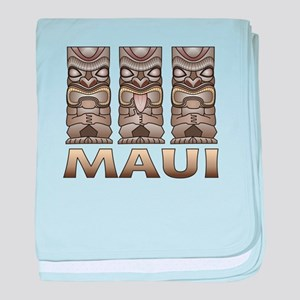 Maui TIKI baby blanket