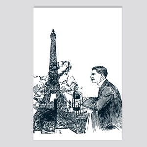 Day in Paris Postcards (Package of 8)