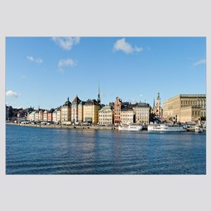 Buildings at the waterfront, Gamla Stan, Stockholm