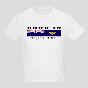 Born In Turks Caicos Kids Light T-Shirt