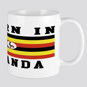 Born In Uganda Mug