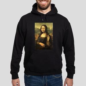 Mona Lisa Flip Off Hoodie
