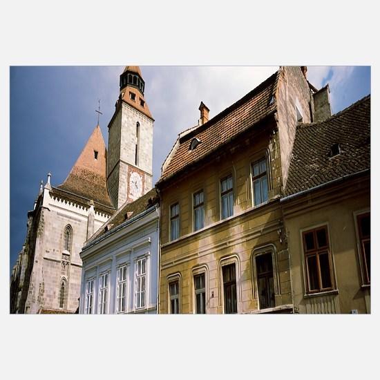 Low angle view of a church, Black Church, Brasov,