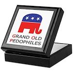 GOP: Grand Old Pedophiles Keepsake Box