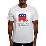 GOP: Grand Old Pedophiles  Ash Grey T-Shirt