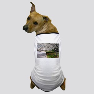 D.C. Cherry Blossoms Dog T-Shirt