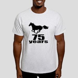 75 Years Birthday Designs Light T Shirt