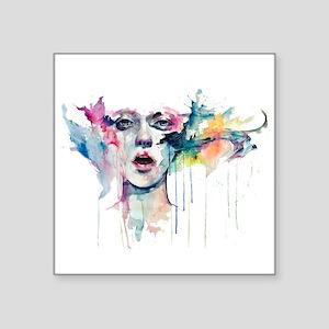 Girl aquarel Sticker